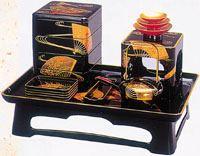 Wajima lacquerware has gained a world-wide reputation due to its distinctive luster and unusual durability.