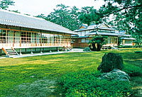 Shown above is the Numazu Imperial Villa Park, constructed in 1893 as a resort for Imperial family