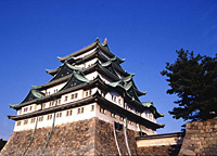 Nagoya castle is the symbol of Nagoya, originally built in 1612 by the founder of Tokugawa shogunate and rebuilt in 1959 after being destroyed in World War II.