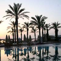 Time for a drink at the Aegean Dream resort in Turgutreis