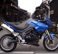Triumph Tiger comes out of the wild
