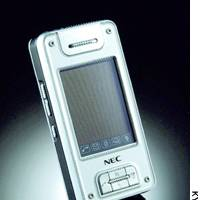 NEC Corp.'s N940 cell phone is touted as the first aimed at the Chinese market capable of receiving TV programs.