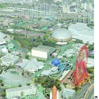 Space World theme park in Fukuoka, shown in this photo taken last month, filed for court protection from creditors on Friday.
