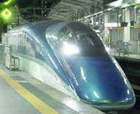 The Fastech, billed by East Japan Railway Co. as the world's fastest train on rails, is shown to the media at JR Sendai Station.