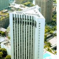 ANA Hotel Tokyo is shown Wednesday in Tokyo's upscale Akasaka district. The airline is thinking of selling a controlling stake in its hotel operations to InterContinental Hotels Group PLC of Britain.