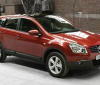 The Qashqai, Nissan Motor Co.'s new SUV, is shown in this handout photo. The new vehicle, designed entirely in Europe, was unveiled in Paris this week. | NISSAN MOTOR CO./AP PHOTO