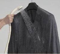 Easy care: This suit made by Konaka Co. can be washed in a warm shower.   COURTESY OF KONAKA CO.