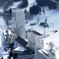 Downhill: The Naeba Prince Hotel in Niigata Prefecture, shown in this February 2005 photo, will end year-round operations to cut costs as visitors decline.   KYODO PHOTO