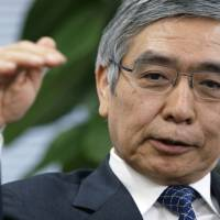 New job: Asian Development Bank President Haruhiko Kuroda, who was officially nominated Thursday as the next Bank of Japan governor, is interviewed in Tokyo in February. | BLOOMBERG