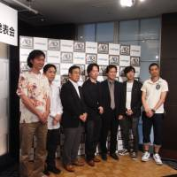 Game boys: An all-star lineup of video-game talents announced at a recent press conference that they are working on new social titles for the Mobage network.
