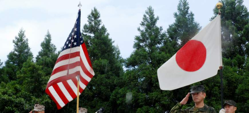 Abe presses ahead on collective self-defense