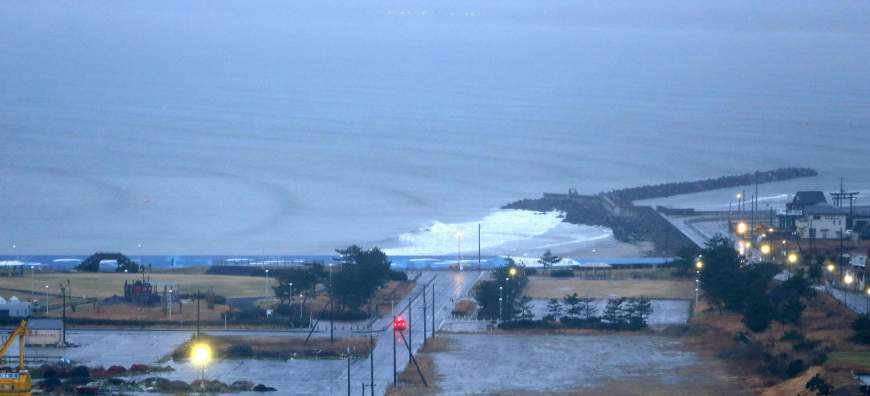 Small tsunami reach Japan from Solomon quake
