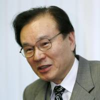Illuminating: Shotaro Yachi, a special adviser to Prime Minister Shinzo Abe's Cabinet, is interviewed. | KYODO