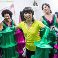 Junko Koshino lends style to Sao Paulo Carnival group