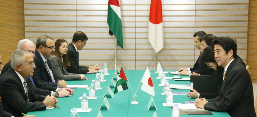 Japan, emerging Asian economies vow Palestinian state-building support