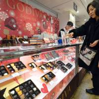 In Japan women, not men, throng stores for Valentine's