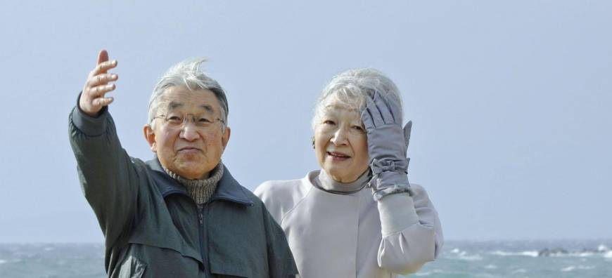 Emperor steadily recuperating year after operation