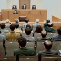 Final verdict: A ruling in a murder trial is handed down at the Nagoya High Court in December 1996. The high court overturned a district court ruling and reduced the defendant's death sentence to life in prison, leaving him eligible for parole in 10 years. | KYODO