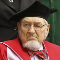 Self-confident: Former U.S. Surgeon General C. Everett Koop attends an inauguration ceremony at Dartmouth College in Hanover, New Hampshire, in September 2009.   | AP