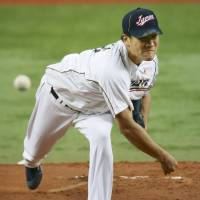 Get it together: Masahiro Tanaka hasn't been his usual dominating self for Japan. | KYODO
