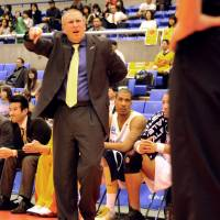 Out of a job: Head coach Bob Pierce was fired by the Sendai 89ers on Saturday. He was 41-45 in the regular season for the Eastern Conference franchise. | YOSHIAKI MIURA