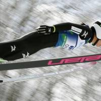 Takanashi takes commanding lead in women's ski jumping World Cup