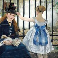 City of light: Edouard Manet's 1873 painting 'The Railway'   offers an illuminated version of a city that Hugo evoked in all its shadowy grimness. | GOOGLE ART PROJECT