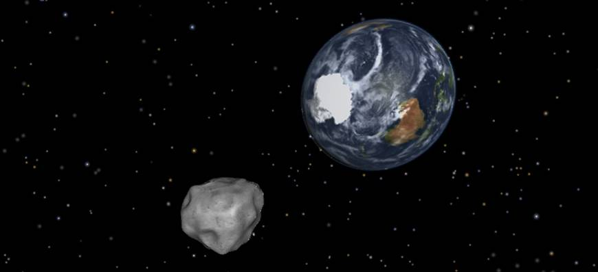 'Warning shot': 50-meter asteroid is about to buzz Earth