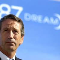 After steep fall from grace, ex-Gov. Mark Sanford now hiking comeback trail