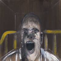 'Study for the Head of a Screaming Pope' (1952)   YALE CENTER FOR BRITISH ART, GIFT OF BEEKMAN C. AND MARGARET H. CANNON; © THE ESTATE OF FRANCIS BACON; ALL RIGHTS RESERVED; DACS 2012 Z0012