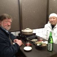 Dining with Iwao Niizawa,  President of the brewery that bears his family name.  | TAKUMI TOCHIZAWA