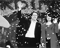 Hugh Grant and Martine McCutcheon in 'Love Actually'