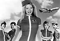 High flier - Gwyneth Palttrow (center) in 'View From the Top'