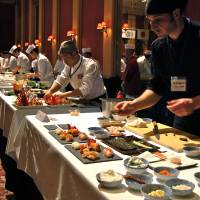 Top chefs explore international accents to sushi