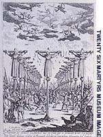 'The Twenty-six Martyrs of Nagasaki' by J. Callot