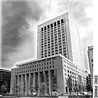 The Dai-Ichi Mutual Life Insurance Building in Tokyo's Chiyoda Ward, where GHQ was based throughout the Occuapation.