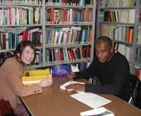 Caryl Phillips meets some of his readers in Tokyo.