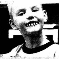 Be very afraid: An image used in the Chagurin magazine for Japanese schoolchildren that is supposed to illustrate the effects of a poor diet on American children's health actually shows a boy wearing fake Halloween teeth.