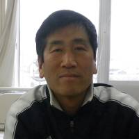 Kazuhiko Sugimoto, State schoolteacher, 40s, It's not expensive, but it's not reasonable either. It's somewhere in between. If somebody wants to improve their English, though, they should take eikaiwa classes continuously.  The nature of learning a language requires this, if the ultimate goal is fluency or near-fluency.