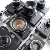 One-man manager: Bellamy Hunt hunts down vintage film cameras for photography buffs around the world. | IRWIN WONG, BELLAMY HUNT