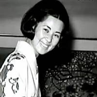 Satoko Kawasaki, as she was then known, in a photo from her days as a JAL attendant. | COURTESY OF MARK CONDON