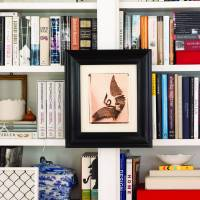 Keep reading and add warmth to a room with books