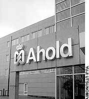 The head office of Royal Ahold in Amsterdam