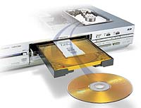 Matsushita's Diga E100H DVD records up to 160 hours of content. | PHOTO COURTESY OF MATSUSHITA ELECTRIC INDUSTRIAL CO.