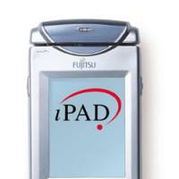 Name game: The iPAD, a hand-held bar-code reader developed by Fujitsu Ltd., is shown in this handout photo. | COURTESY OF FUJITSU