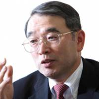 Reinventing the firm: Nobuhiro Endo, president of NEC Corp., is interviewed Wednesday in Tokyo. | BLOOMBERG PHOTO