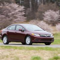 Lacking recommendation: An undated handout photo shows the 2012 Honda Civic EX-L sedan.   BLOOMBERG