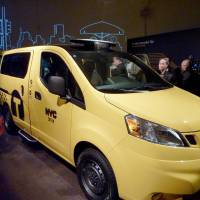 Nissan unveils new yellow cab for NYC