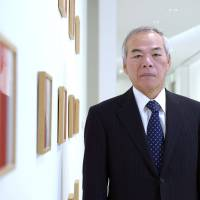 Demanding outlook: Tadahito Yamamoto, president of Fuji Xerox Co., poses for a photograph after an interview in Tokyo on Monday.   BLOOMBERG