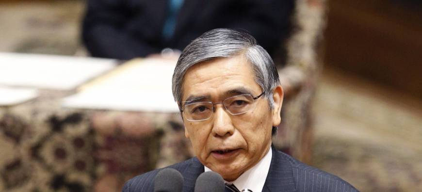 Kuroda assures Diet of inflation goal